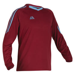 New Napoli Football Shirt Maroon/Sky