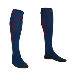 Optima Football Socks Blue/Claret