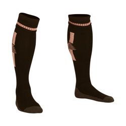 Optima Football Socks Black/Pink