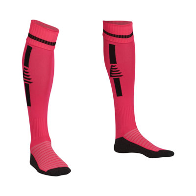 Goalkeeper Socks Fluo Pink/Black