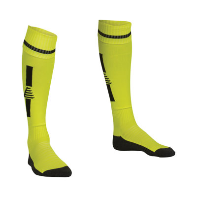Goalkeeper Socks Fluo Yellow/Black