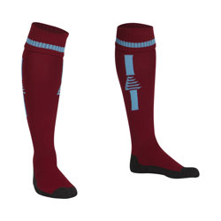 Optima Football Socks Maroon/Sky