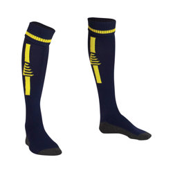 Optima Football Socks Navy/Yellow