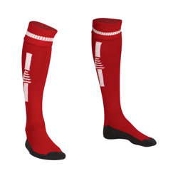 Optima Football Socks Red/White