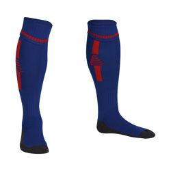 Optima Football Socks Royal/Red
