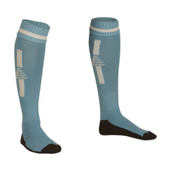 Optima Football Socks Sky/White
