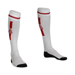 Optima Football Socks White/Red