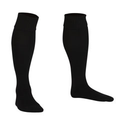 Premier Plain Football Socks Black