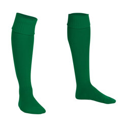 Premier Plain Football Socks Green