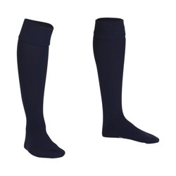 Premier Plain Football Socks Navy