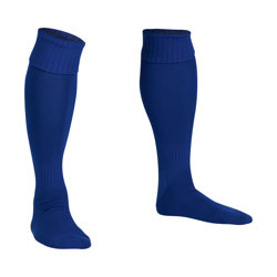Premier Plain Football Socks Royal