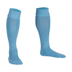 Premier Plain Football Socks Sky