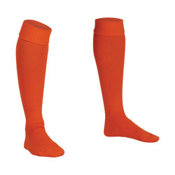 Premier Plain Football Socks Tangerine