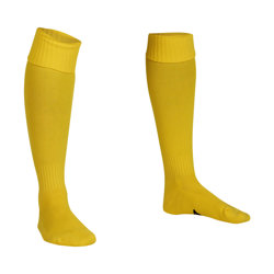 Premier Plain Football Socks Yellow