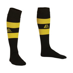 Prima Football Socks Black/Yellow