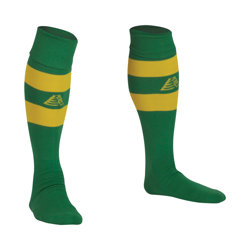 Prima Football Socks Green/Yellow