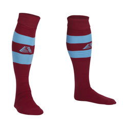 Prima Football Socks Maroon/Sky