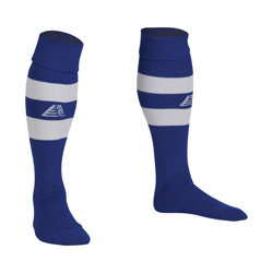 Prima Football Socks Royal/White