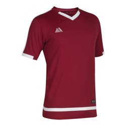 Rio Football Shirt Maroon/White