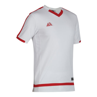 Rio Football Shirt White/Red