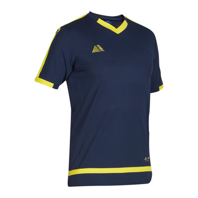 Rio Football Shirt Navy/Yellow