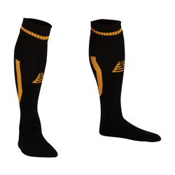 Sabre Football Socks Black/Amber