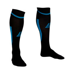 Sabre Football Socks Black/Azure