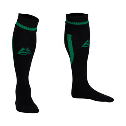 Sabre Football Socks Black/Green