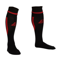 Sabre Football Socks Black/Red