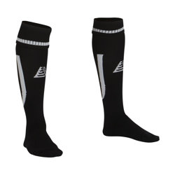 Sabre Football Socks Black/White
