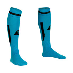 Sabre Football Socks Fluo Sky/Black