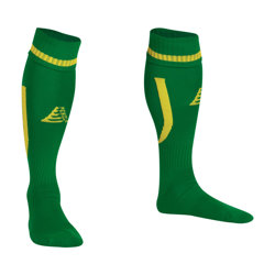 Sabre Football Socks Green/Yellow