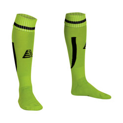 Sabre Football Socks Lime/Black