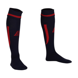 Sabre Football Socks Navy/Red
