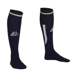 Sabre Football Socks Navy/White
