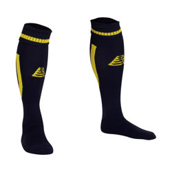 Sabre Football Socks Navy/Yellow