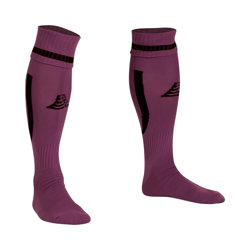 Sabre Football Socks Purple/Black