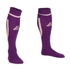 Sabre Football Socks Purple/White