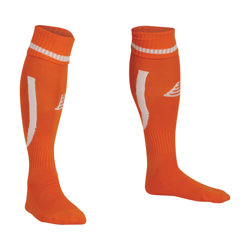 Sabre Football Socks Tangerine/White
