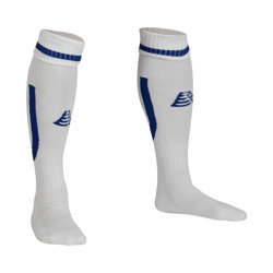 Sabre Football Socks White/Royal