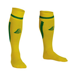 Sabre Football Socks Yellow/Green
