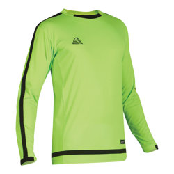 Solar Fitted Goalkeeper Shirt Fluo Green/Black