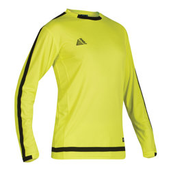 Solar Fitted Goalkeeper Shirt Fluo Yellow/Black