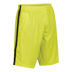 Solar Goalkeeper Shorts Fluo Yellow/Black