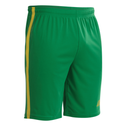 Vega Football Shorts Green/Yellow