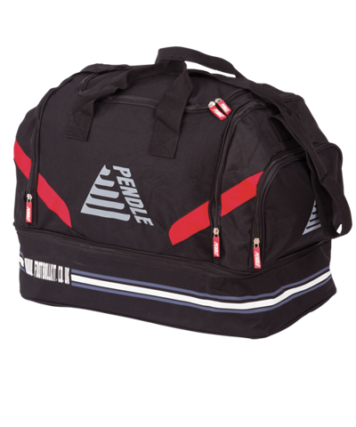 65830e1c13de Aztec Players Kit Bag Black Red - Football Bags - Pendle Sportswear
