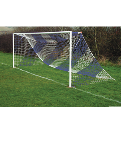 Blue Striped Goal Nets