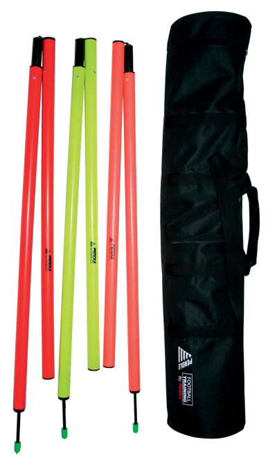 12 Slalom Poles With Bag (Jointed)