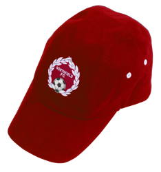 Baseball Cap (Flexiprinted) Red