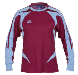 Metz Football Shirt Maroon/Sky